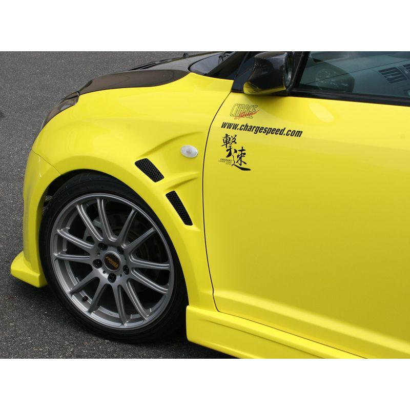 Chargespeed Front Fenders Suzuki Swift Ii Sport 2005 Incl Intake 15mm Frp