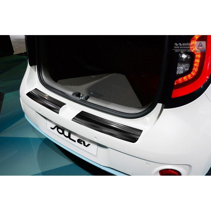Carbon Fiber Rear Bumper Protector for Kia Soul All Models Durable ...