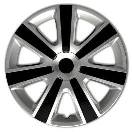 Autostyle Set Wheel Covers Avera 13-inch Silver//Black