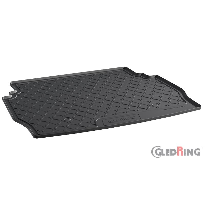 Trunk Mat 1-Series F20 5-Doors 2011 Rubber Gledring 1205 Rubbasol Black