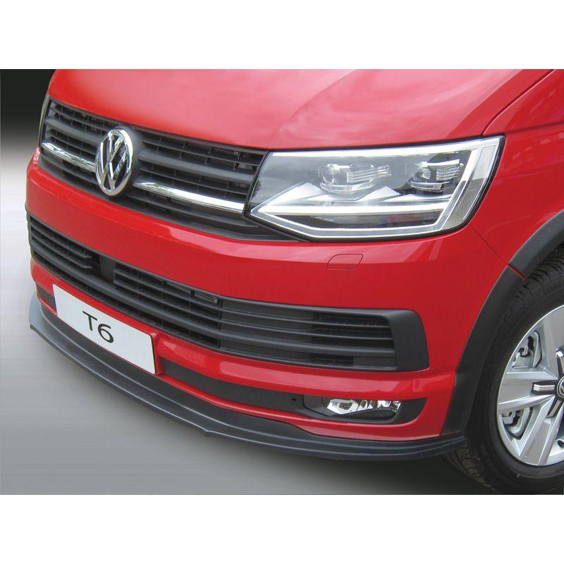RGM Front spoiler lip Volkswagen Transporter T6 2015- Black