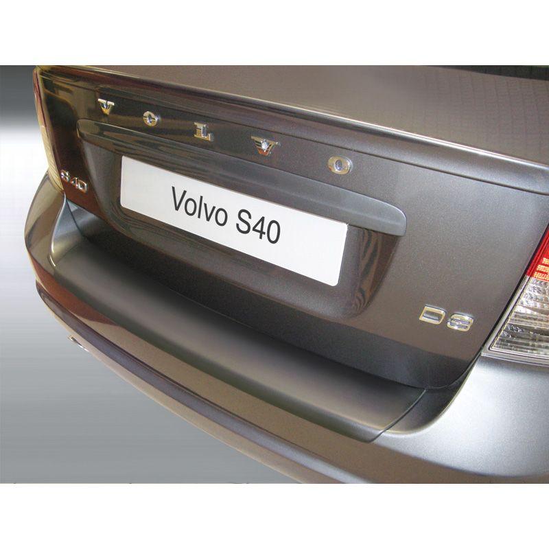Abs Rear Bumper Protector Volvo S40 4 Doors 2007 Black