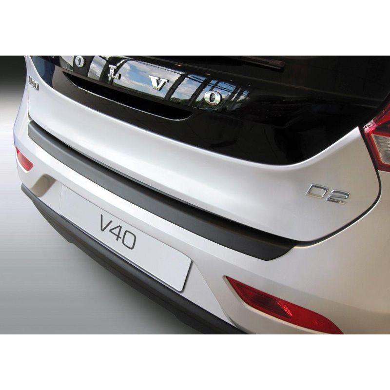 RGM GR RBP740 ABS Rear bumper protector Volvo V40 5 doors 6//2012 Black