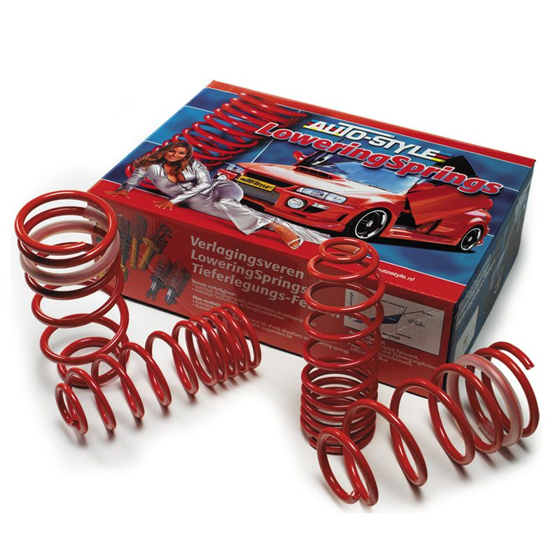 AutoStyle lowering springs compatible with Seat Cordoba 6K//C 1.4//1.6//1.8//2.0//1.9D 8//93-12//95 40mm
