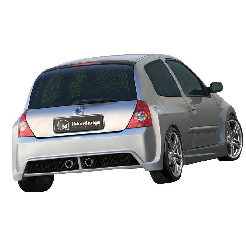 IBherdesign Wheel arch extensions 'rear' Renault Clio III 2001- 'Mohave  Wide'