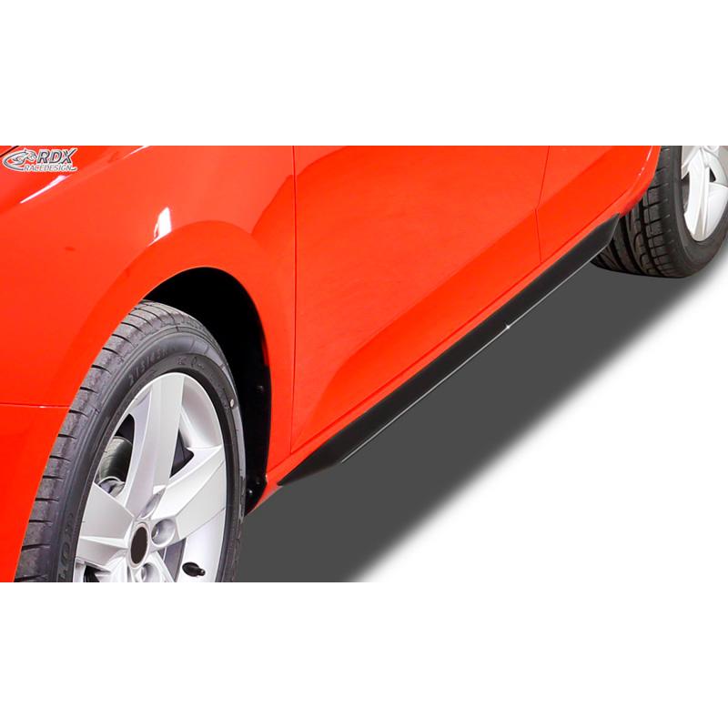 Side Skirts Slim Audi A3 8p Sportback 2004 2012 Abs Glossy Black
