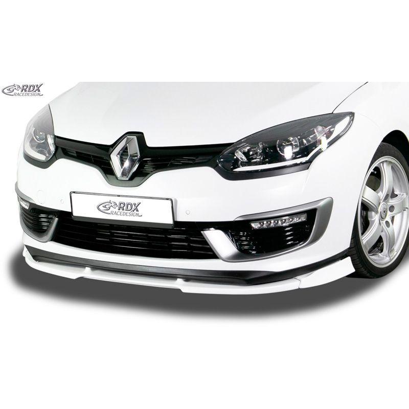 Front spoiler Vario-X3 Renault Megane III GT + GT-Line 2014- (PU)